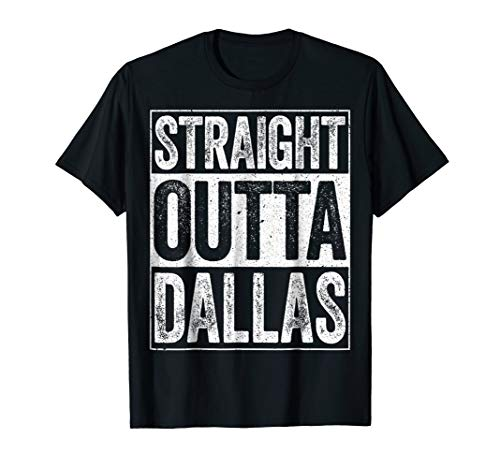 Dallas Cowboys Baseball Jersey - Straight Outta Dallas T-Shirt Texas Gift Shirt
