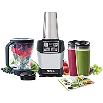 Nutri Ninja Auto iQ Complete Extraction Blender System (Renewed) (BL486CO)