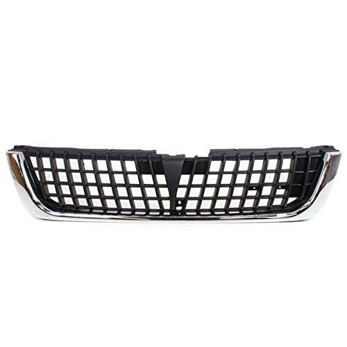 Koolzap For NEW 97 98 99 Montero Sport Front Grill Grille Assembly Chrome MI1200219 MR325573 ()