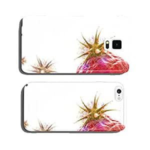 Microscopic view of virus attacks the cell cell phone cover case iPhone5