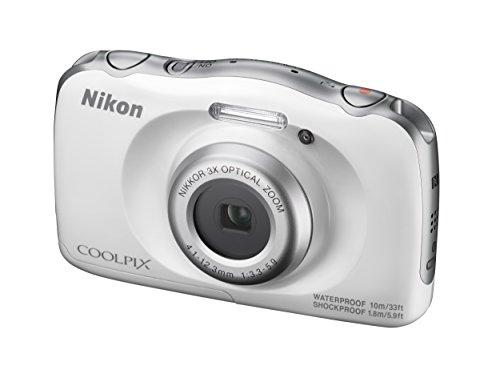 Nikon COOLPIX W100 13.2 MP Point & Shoot Digital Camera, White