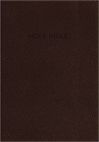 NKJV, Foundation Study Bible, Leathersoft, Brown, Indexed, Red
