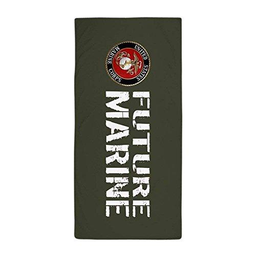 USMC: Future Marine (Military Green) Large Beach Towel, Soft 31