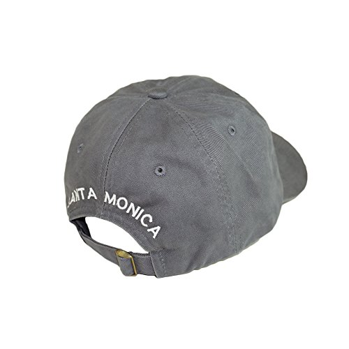 f9185a9a0e1 Los AngUSA City State Vintage Hat Adjustable Stylish Trend Dad Hat Fashion Hipster  Baseball Cap (Santa Monica-Gray) - Buy Online in Oman.