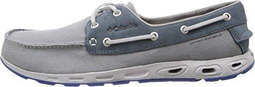 Columbia Mens GrayHEAD Vent PFG Gray Boat Shoes 7.5 M