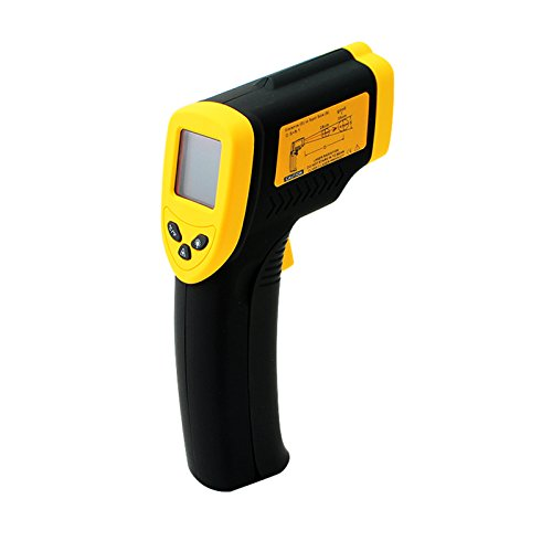 Denshine Non-Contact LCD IR Infrared Digital Temperature Test Thermometer With Temperature range -50 to 380℃ (-58 to 716°F) And Low Battery Indicator - Acu Rite Outdoor Lcd Window