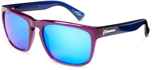 Electric Visual Knoxville Royal Blue/Grey Blue Chrome Sunglasses