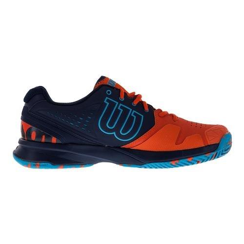 Wilson Herren Kaos Composite Tennisschuh Rot / Marine / Suba Blau