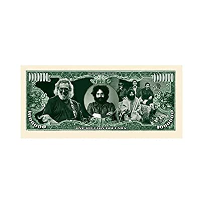 American Art Classics Pack of 100 - Jerry Garcia Grateful Dead Million Dollar Bill - Best Gift Or Keepsake for Fans of The Grateful Dead: Toys & Games