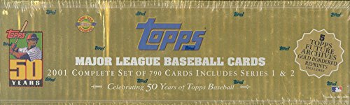 Complete Set 2001 - 2001 Topps Baseball Card Complete Set FACTORY SEALED Box