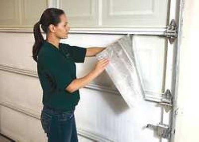 NASA US Tech Reflective White Foam Core Garage Door Insulation Kit 8L x 7H