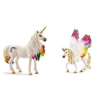 Regenbogeneinhorn Fohlen günstig kaufen Spielzeugfigur Schleich 70525