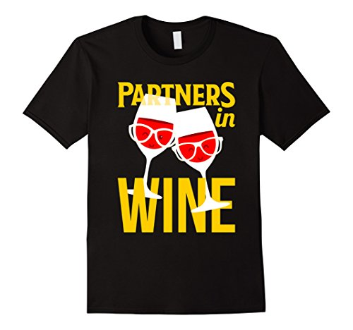Haus Black Liquor (Mens Funny Drinking Wine Lover Gifts T-shirt Partners In Wine Tee Small Black)