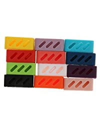 MagiDeal 12Pcs Silicone Replacement Wrist Band Strap Bracelet Clasp for Fitbit Alta