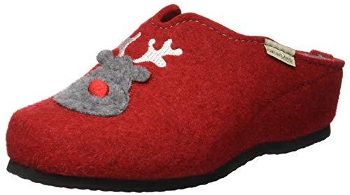 GRUNLAND Gaby, Zapatos de Playa y Piscina para Mujer Rosa (Rosso Ross)