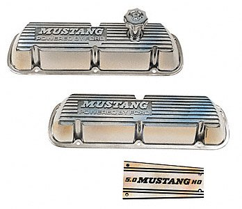 Ford Racing M6000F302 Polished Aluminum Valve Cover