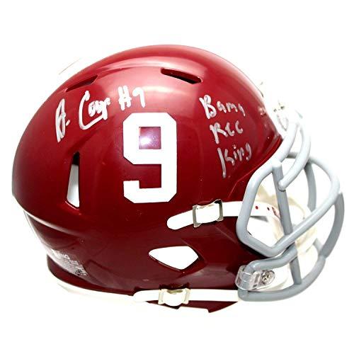 Amari Cooper Autographed Signed Alabama Crimson Tide Mini Helmet with Bama Rec King Inscription - JSA Authentication