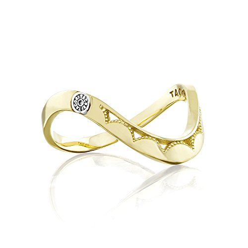 Tacori SR215Y 18K Yellow Gold Crescent Cove Single Wave Ring, Size 7 ()