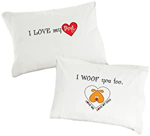 "Amazon.com : Dog SnorZ ""I Love My Dog, I Woof You Too"