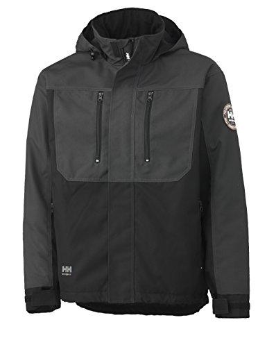 34 Workwear gris Travail noir Pour Multicolor De 076201 Xl Helly Homme Veste Hansen qEw5cvS