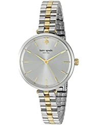 kate spade new york Womens Holland Quartz Stainless Steel Casual Watch, Color:Silver-Toned (Model: KSW1119)