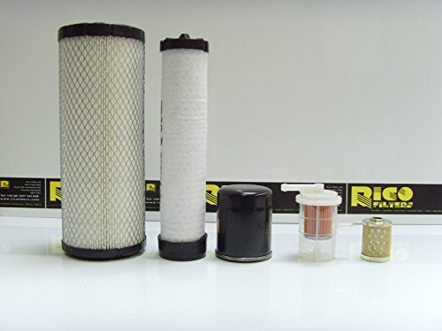 EC25, EC30 Filter Service Kit Air, Oil, Fuel Filters w/S3L2 Engine: