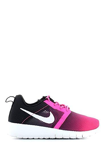 Nike Roshe One Flight Wheight (GS) Laufschuhe pink pow-white-black - 37,5