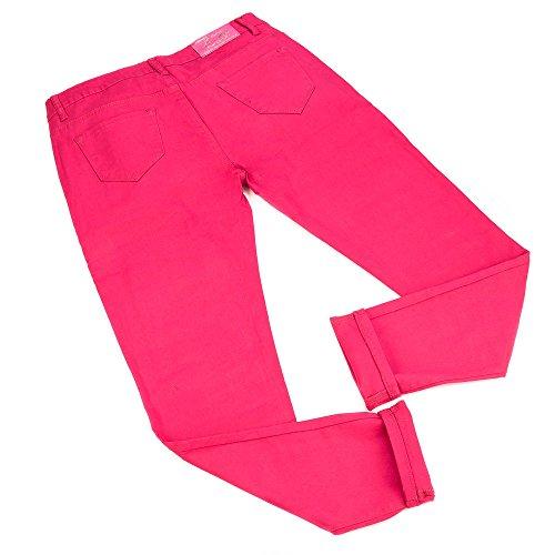 Plus Size Skinny Jeans Für Damen , Pink In Gr. 48 bei Ital-Design
