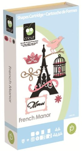 French Manor Provo Craft Cricut Cartridge