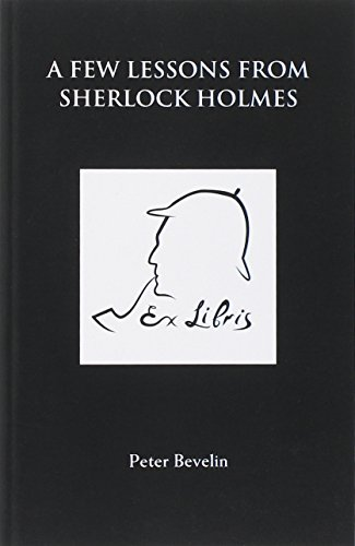 A Few Lessons from Sherlock Holmes [Peter Bevelin] (Tapa Blanda)