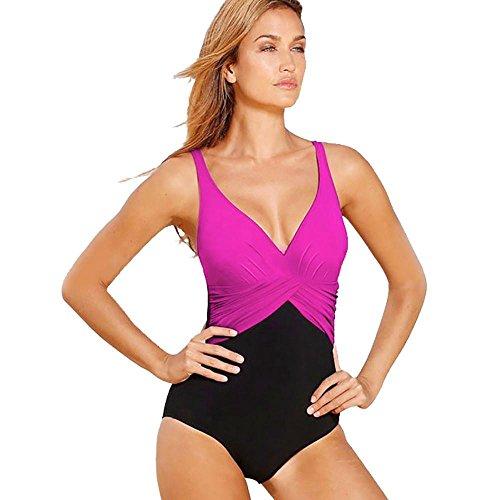 Walmart Hot Dog Costume (Women clothes,CieKen Women Sexy Swimming Suit Plus Size Bikini Set Swimwear Push-Up Padded Bra Swimsuit New Fashion So Cool (XL, Hot)