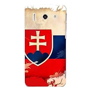 "Disagu Design Protective Case para Huawei Ascend G510 Funda Cover ""Slowakei"""