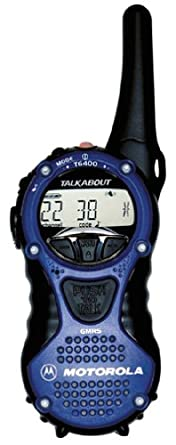 motorola talkabout. motorola talkabout t6400 aa 5-mile 22-channel frs/gmrs two-way talkabout