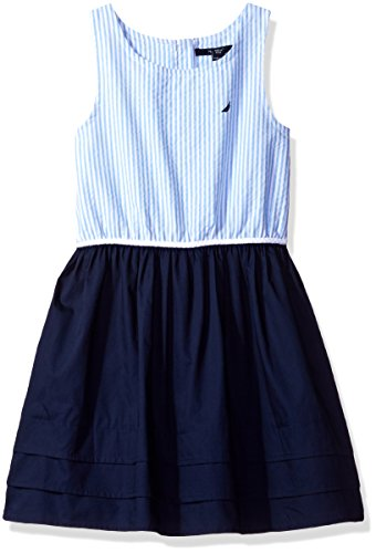 nautica-big-girls-stripe-oxford-bodice-dress-with-jersey-skirt-pleated-hem-navy-10