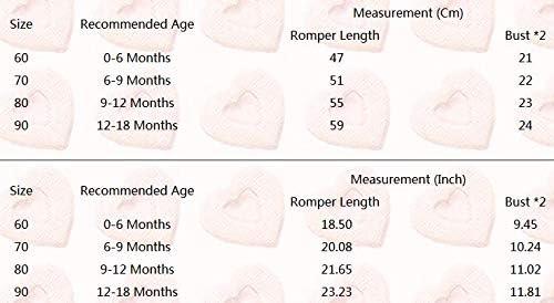 Strampler M/ädchen Einteiler Fiomva 2-teiliges Herbstkleidungs-Set f/ür Neugeborene Baby Outfits Jumpsuit