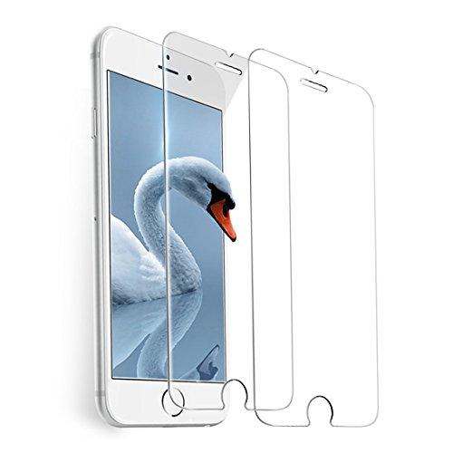 巡礼者借りている下るiPhone 7、8、6s、6強化ガラス保護フィルム[4.7