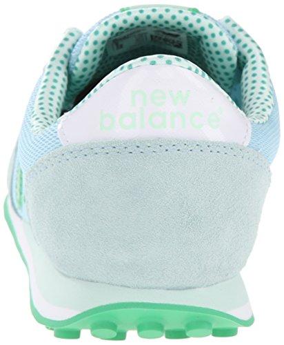 New Balance WL410 W Calzado azul verde