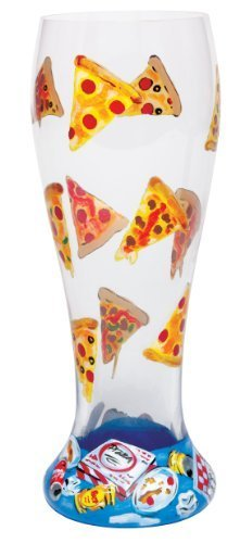 Beer Painted Hand - Lolita Pizza and Beer Pilsner Retired - Hand-Painted Gift-Boxed PIL-5580P