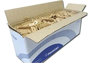 FastCap Light Maple Polycarbonate Kolbe Korner -500 Bulk Pack