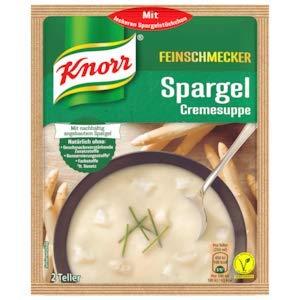 Knorr Feinschmecker Spargel Suppe (49g-2 Teller)