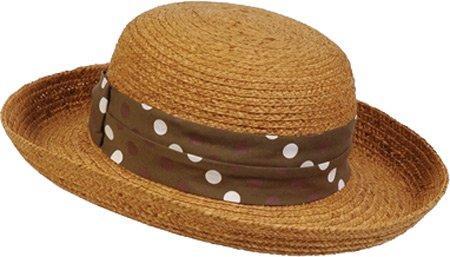 Conner Hats Women s Polk-A-Fun Ladies Raffia Summer Hat 554b9fc9ade