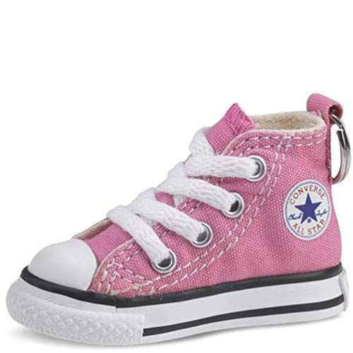 Converse Key Chain All Star Chuck Taylor Sneaker Keychain Authentic (Pink/white), 3 x 2.8 x 0.9 inches