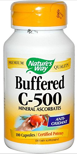 - Buffered C 500mg - Nature's Way - 100 - Capsule