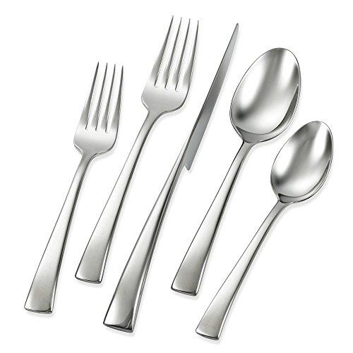 J.A. Henckels Bellasera 45-Piece Flatware Set, Service for (Dining Table European Design)