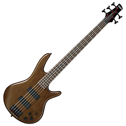 Ibanez GSR205BWNF 5 String Walunt Flat Finish Electric Bass with Gig Bag, Stand, and Tuner by Ibanez (Image #2)