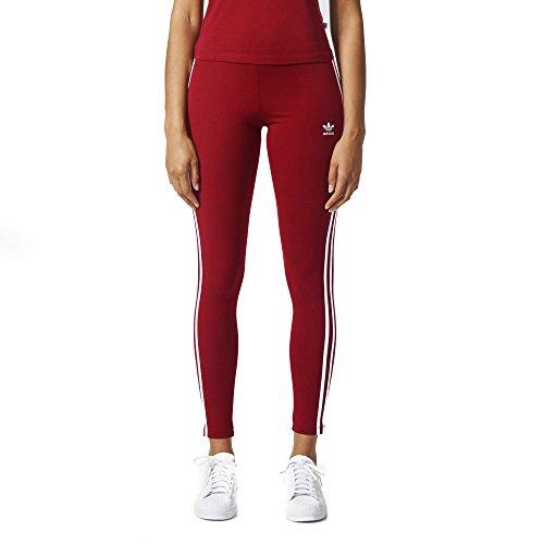 b26cd8de684e4 Galleon - Adidas Originals Women's 3-Stripes Leggings, Collegiate Burgundy,  Small