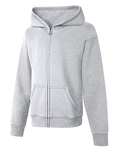 Gray Full Zip Hoodie - 2
