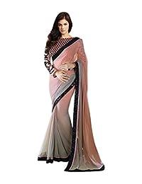 Stylo Sarees Women's Pedding Georgette Fancy Designer Indian Sari