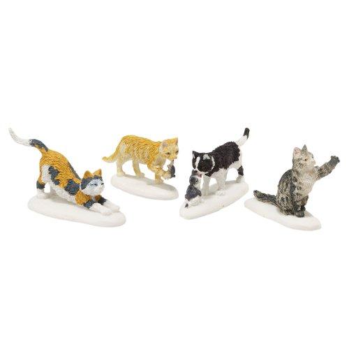 Strut Sculpture - Department 56 Accessories for Villages Stray Cat Strut Accessory Figurine
