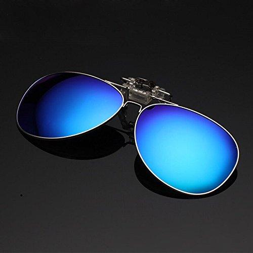 Lente Visión Clip Sol Gafas Color Pesca de C3 C2 polarizado Anti Go UVA UV cercana Ciclismo Visión Easy Equitación Anti Piloto Conducción Shopping Clip Nighte Vista nzYRfF1qw